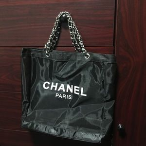 Chanel Mesh VIP tote